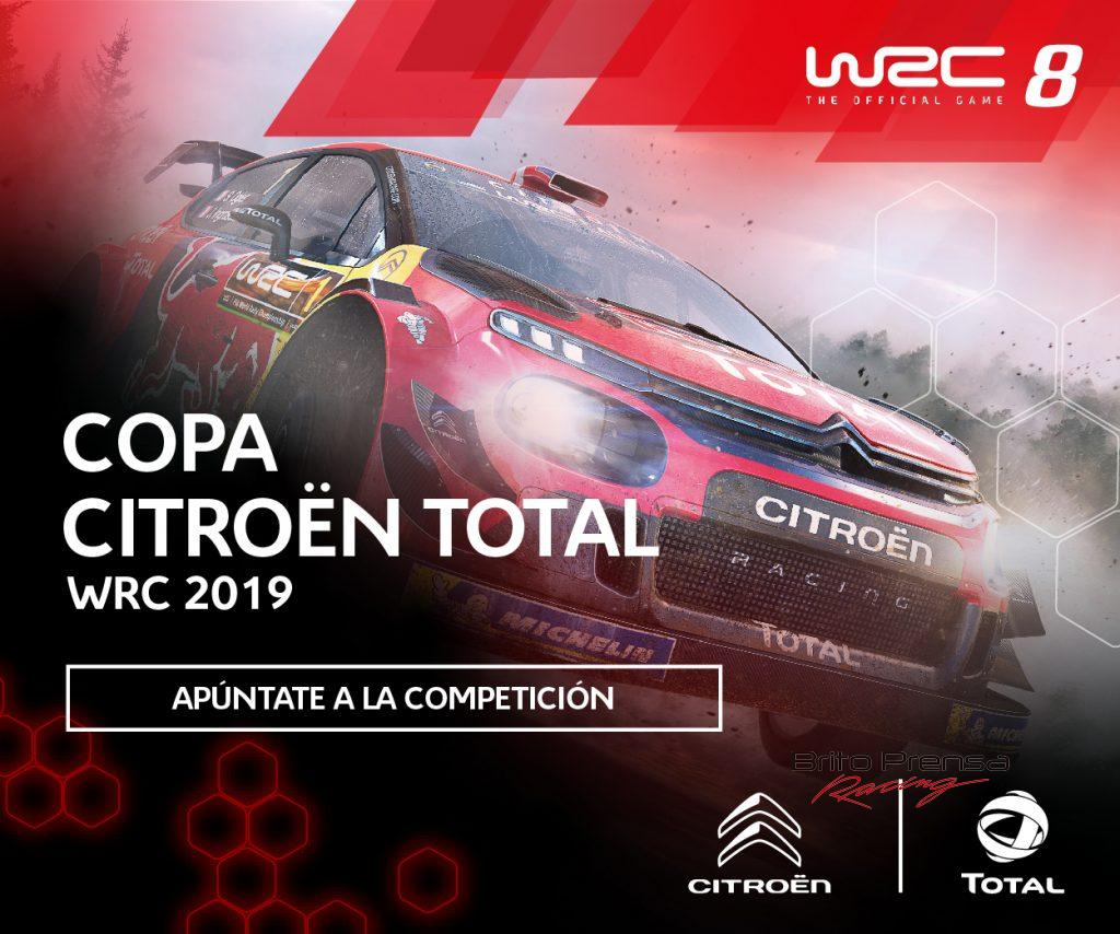 Arranca la copa Citroën Total WRC 2019 Sim Racing