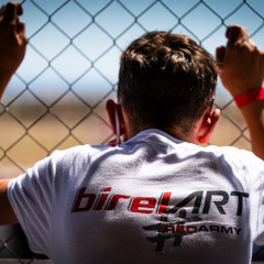 Birel ART en el ritmo OK-Junior en Zuera