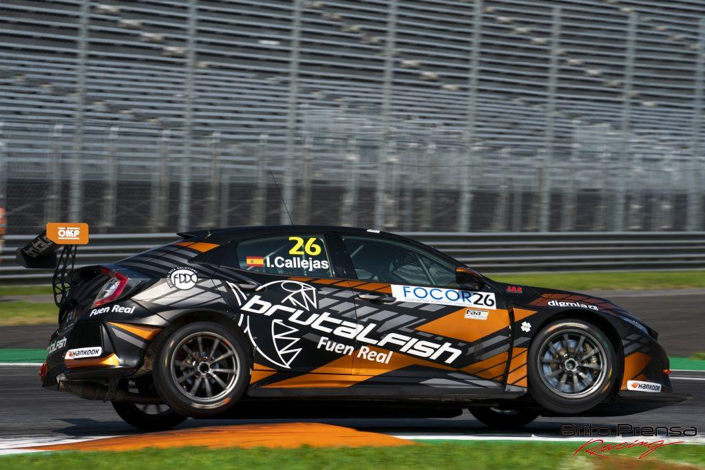 Isidro Callejas, campeón Rookie del TCR Europe 2021